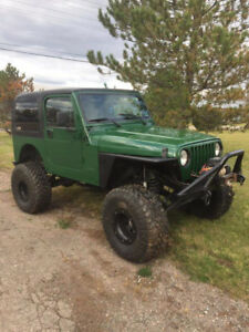 1997 Jeep TJ Want gone today read the add