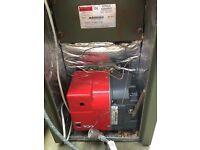 Boiler and oil tank