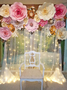 Backdrops, Party & Event Decor for rent