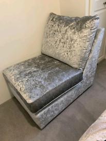 Crushed Velvet Chair