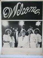 Groupe québécois-  WELCOME. 2 AFFICHES / POSTERS.1983