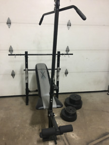 Bench press/multi station