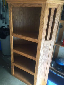 Corner Bookcase - Custom Made