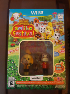 Animal Crossing Amiibo Festival for Wii U Brand New Sealed
