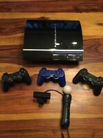 PlayStation 3 + PlayStation Move + 16 jeux, 200$, Laval