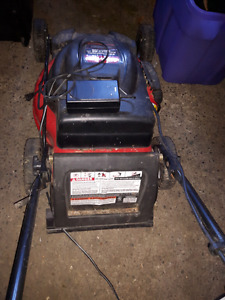 Troybilt rechargeable lawnmower
