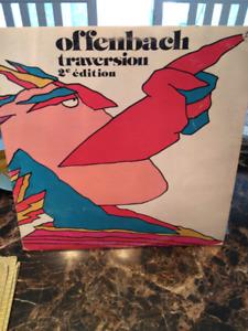 DISQUE Vinyle Offenbach