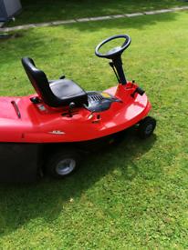 Castel garden ride on mower