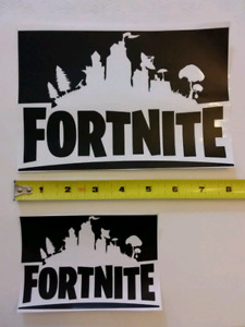 FORTNITE vinyl decal