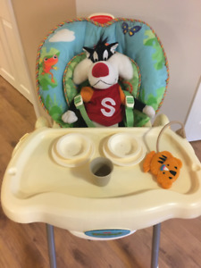 Fisher Price Rainforest High Chair in Excellent Condition
