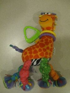 Girafe Lamaze, fleur d'éveil, Alex Jr Chiot extensible