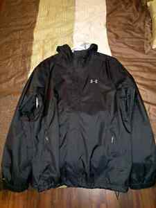 Manteau under armour bora homme large