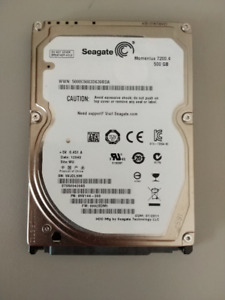 Seagate Momentus - ST9500420AS Hard Drive - 500GB - 7200RPM