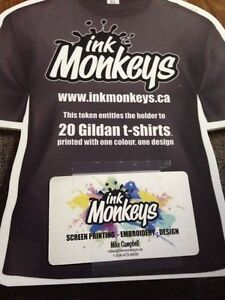 Ink Monkeys gift card