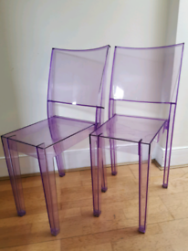 """Kartell chairs """"La Marie"""" by Starck"""