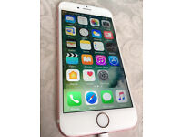iPhone 6s Rose Gold 64GB Unlocked (Excellent Condition)