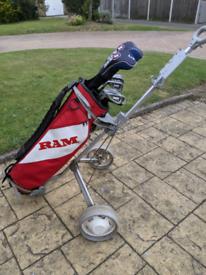 Golf clubs left handed golf set