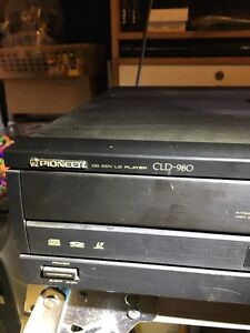 Pioneer laser disc player CLD-980