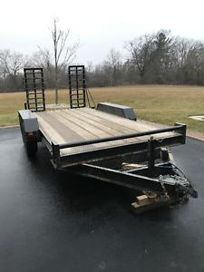 14' equipment trailer 5 ton rating