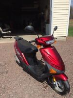 2007 Hyosun scooter for sale