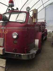 1954 Le France Open Top Fire Truck