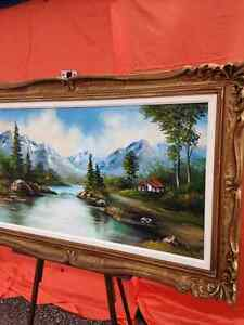 Estate -1972 signed oil painting -Showroom Condition