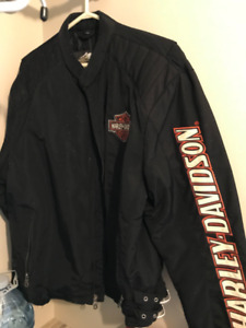 Harley Davidson Jacket and Leather Chaps