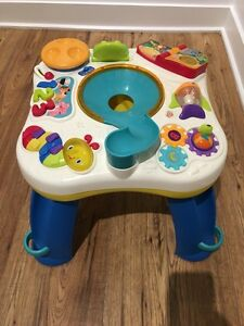 Bright Starts Having a Ball Get Rollin Activity Table  (Used)