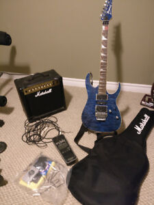 Ibanez RG4EX1: comes with Marshall amp and more!