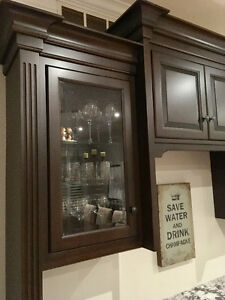Custom made Maple Buffet/Hutch or Bar Kitchener / Waterloo Kitchener Area image 5