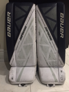 Goalie equipment (youth and junior)