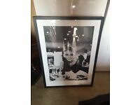 Audrey Hepburn Picture in Black Frame with Glass