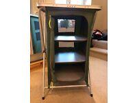Outwell 3 shelf camping storage cupboard