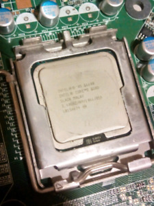 Q6600 + Dell Vostro 220 Mobo + 4gigs RAM