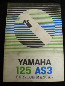 Yamaha 125 AS3 Service Manual