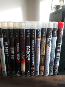 PS3 / all cables / 1 controller/ 23 games