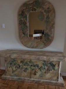 2 piece chest and mirror