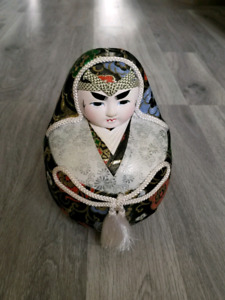 Handcrafted Procelain Japanese Doll