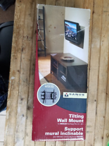 Tilting wall mount for TV