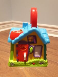 Talking Toy House with Switches, Slides, etc.