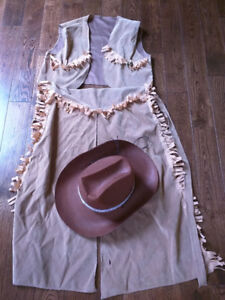 3-piece cowboy costume for 5-8 years old