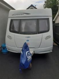 Spacious 2 berth caravan