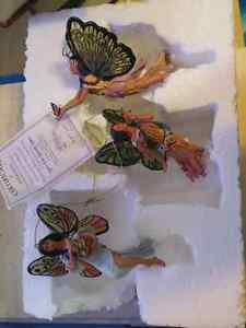 Spirit of the butterfly dance ornaments
