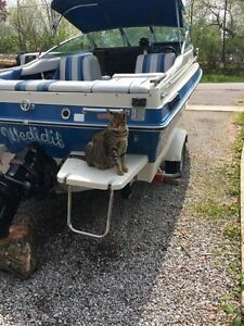Sea Ray boat and trailer Excellent condition