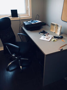 Office furniture plus printer