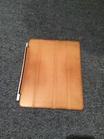 Brown Leather Smart Case for iPad
