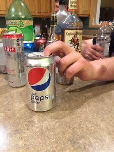 Can of Diet Pepsi