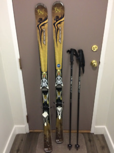 Women's Nordica Skis and Scott Poles