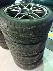 2011-2014 Shelby GT500 rims and tires package