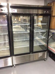 Brand new double door freezer